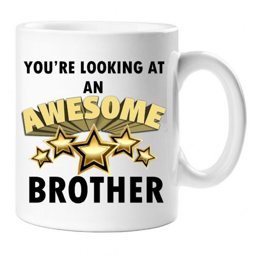 You're looking at an AWESOME BROTHER Novelty Gift Mug N40